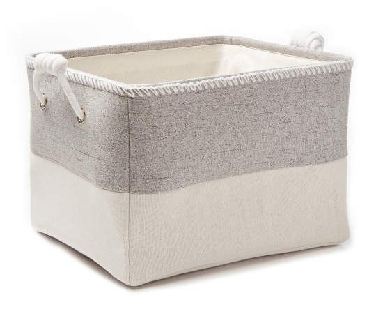 Simple Concepts Gray Heather Canvas Storage Bins Canvas Storage Storage Bins Big Lots