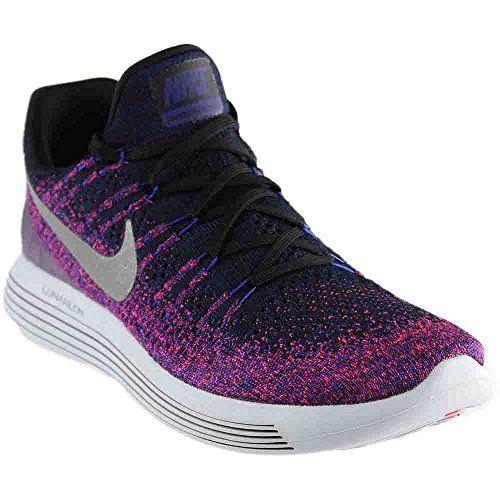 flotador Rebobinar activación  NIKE Men's Lunarepic Low Flyknit 2, Black/Reflect Silver,... https://www. amazon.com/dp/B076P4DJV6/ref=cm_sw_r_… | Casual sneakers women, Running  shoes for men, Nike