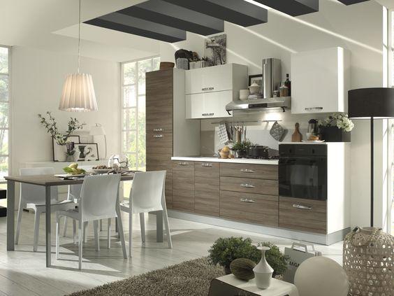 Cucina mercatone uno | cucine | Pinterest | Elegante, Arredamento ...