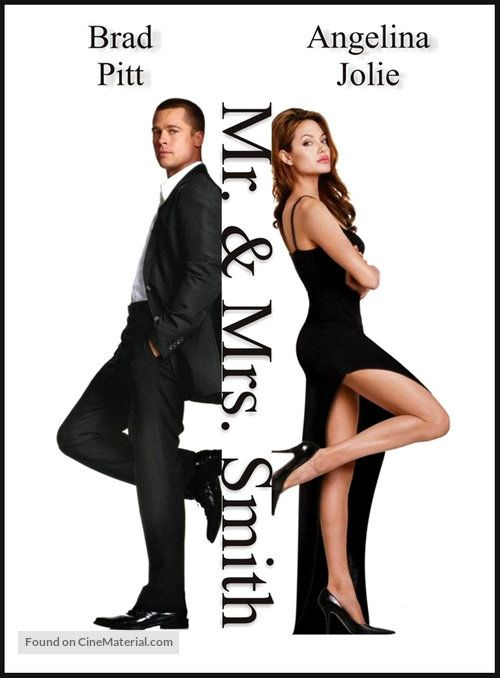 Mr Mrs Smith 2005 U S Movie Poster 17a Mr And Miss Smith Mr And Mrs Smith The Artist Movie