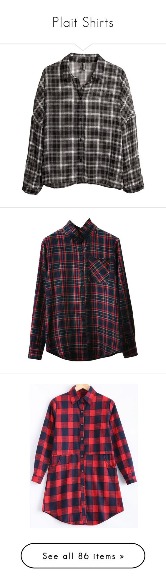 """Plait Shirts"" by janjanzira-1 ❤ liked on Polyvore featuring tops, blouses, shirts, flannels, black, flannel shirts, extra long sleeve shirts, pattern shirt, pattern blouses and long-sleeve shirt"