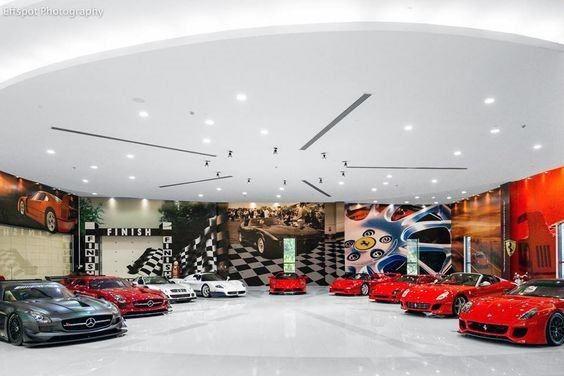 Top 70 Best Garage Wall Ideas Masculine Interior Designs Luxury Garage Garage Interior Garage Design