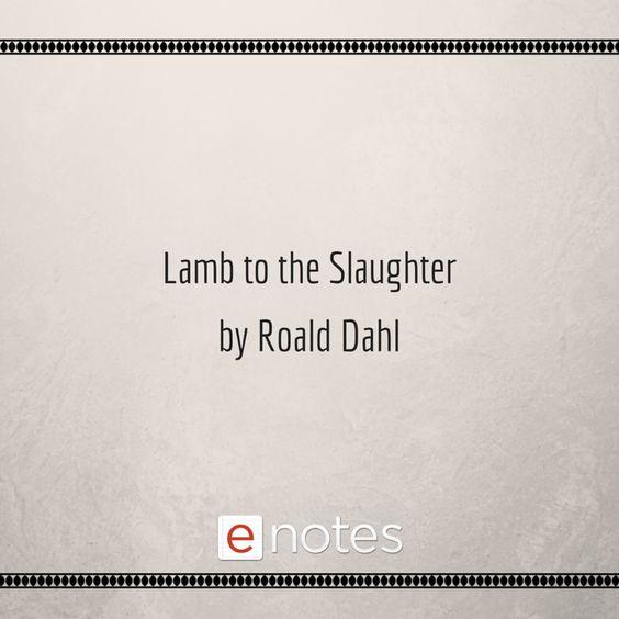 essay lamb slaughter