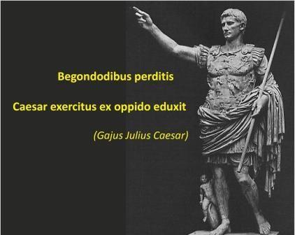 Die Begondoden des Gajus Julius Caesar