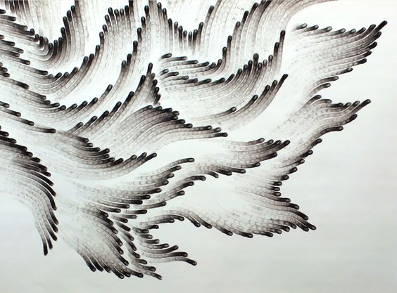 Judith Ann Braun - Drawn with fingers dipped in charcoal or pastel