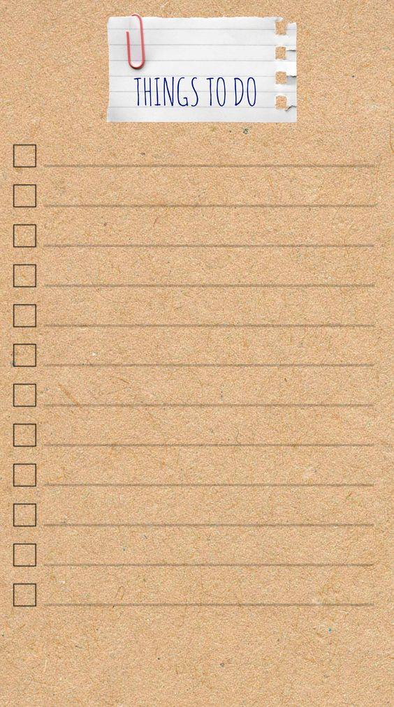 """Dieses Mal einen sehr """"schlichte"""" To-Do List"""". Viel Spaß:)- Filofax - Personal - Domino - Love - Inserts - To-Do - Lists - Challenges -"""