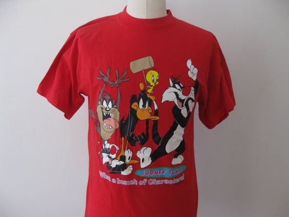 Vintage Looney Tunes Characters t-shirt by TheVintageThrowback