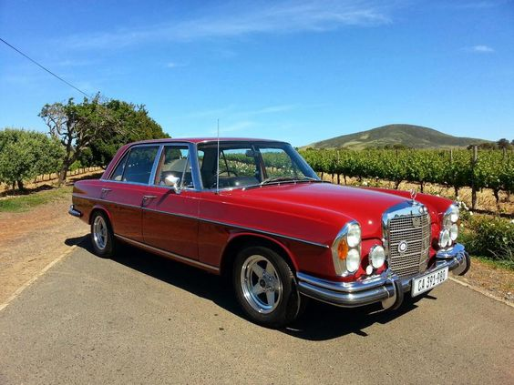 Mercedes-Benz w108/109 series 1965-1972