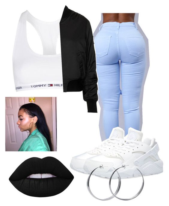 """""""{happy anniversary to blackout}"""" by wavy-chii ❤ liked on Polyvore featuring moda, Topshop, NIKE, Lime Crime i Coco's Liberty"""