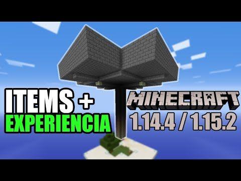Construir Mega Granja De Mobs Items Y Experiencia 1 14 1 15 Minecraft Tutorial Youtube Minecraft Granja Construir