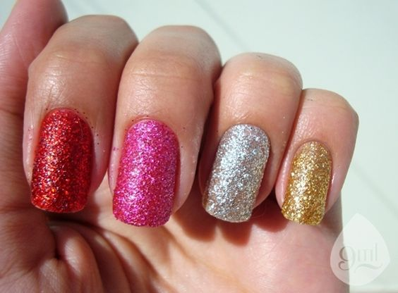 What to Do with Glitter | obs: quando eu falar apenas a cor do glitter, significa que sua base ...