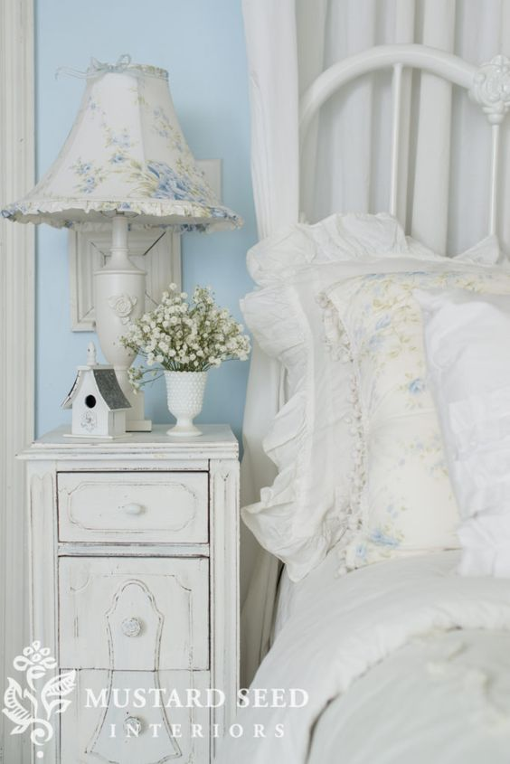 Romantic Homes Photo Shoot - Miss Mustard Seed