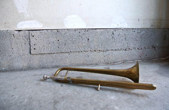 Rare Vintage Bb Slide Trumpet  Getzen Deluxe by ThEeRabbitHole