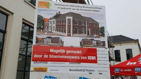 'Bloemenvouwers betalen verbouw gemeentehuis Aalten' - Omroep Gelderland: