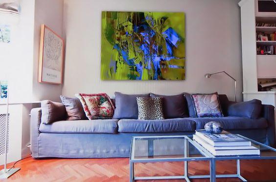 Raumbeispiel eines Aquarelldrucks von mir zukaufen bei http://brigittedurr.ohmyprints.com/
