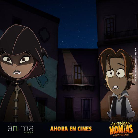 Luis y Valentina en #LaLeyendaDeLasMomias