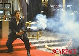 Scarface - with a link for The Top 25 Gangster Films of the Last 40 Years