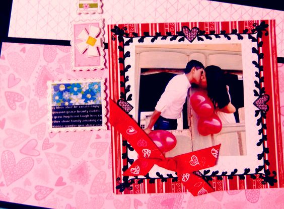 My Love scrap  album