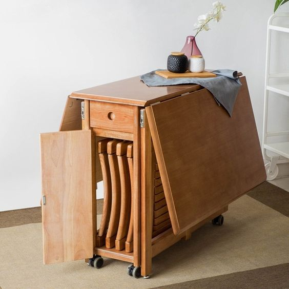 11 Ideas Of Kitchen Table For Small Spaces Space Saving Dining Table Dining Table With Storage Foldable Dining Table
