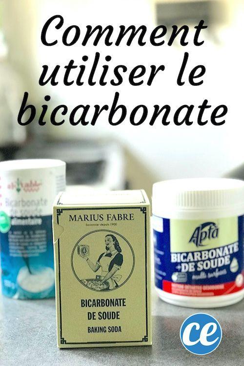 Epingle Sur Bicarbonate Utilisations Magiques