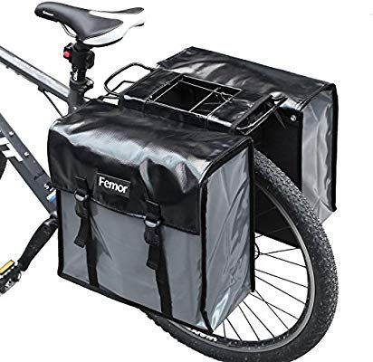 Amazon Com Femor Bike Pannier Bags Waterproof Bicycle Grocery
