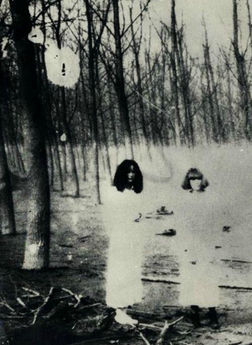 Women in the Woods Series by Deborah Turbeville, 1977