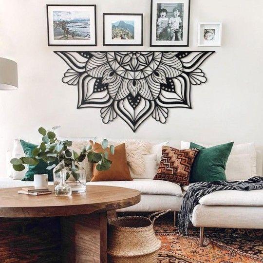 Decoration Mur Metallique Sutra En 2020 Decoration Mur Decoration Deco Mur