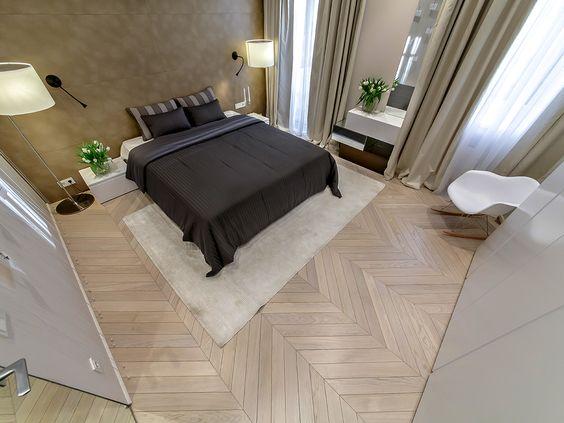 Chevron parquet - Luxurious flooring for classic style of interior. #artisticparquet #chevronparquet #floor #floors #hardwoodflorboards #intarsia #lehofloors #luxparquet #modularparquet #pol #parquet #studioparquet #tavolini #tavolinifloors #tavolinifloorscom #tavoliniwood #termowood #wood #woodcarpets #woodenfloors #iloveparquet