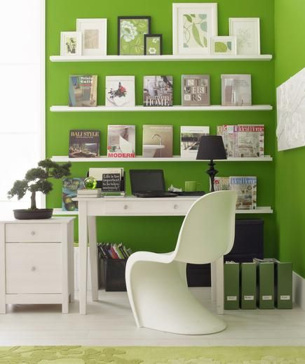 The Great Wall | No spare room? No problem. Carve out a workspace in your home with these creative ideas.: