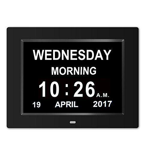 Digital Clock Wall Clock The Original Memory Loss Digital Calendar