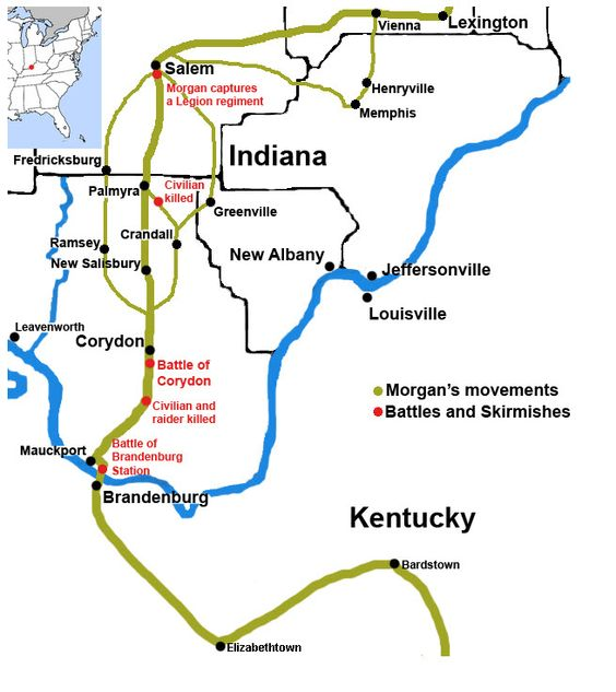 Map Of Kentucky And Indiana  Bing Images