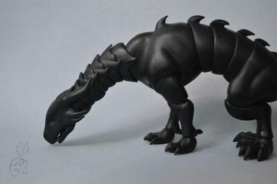 Poseable Dragon  Дракон — Путь вверх. Авторские сказочные существа.