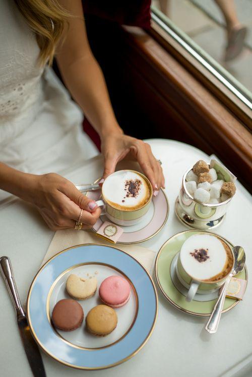 coffee Ladurée in Paris