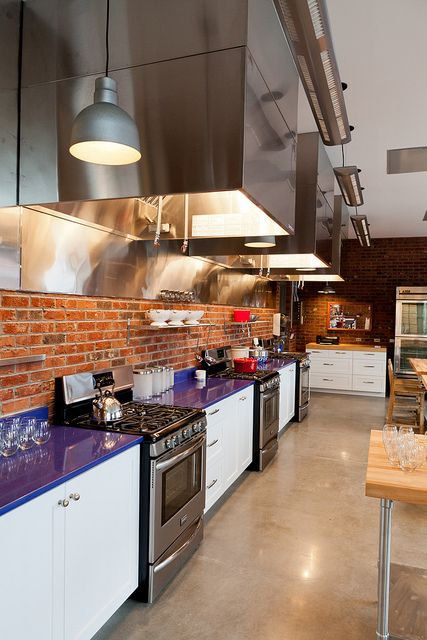 chef kitchen classroom - Google Search | Celebrity Cooking Studio ...