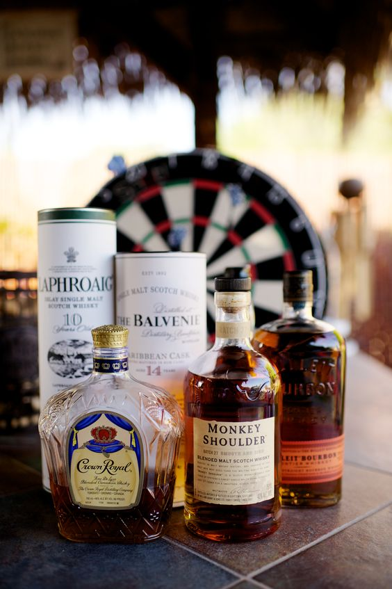 For the Groom // Scotch and Darts Bar