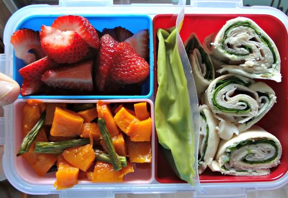 Healthy lunch ideas {bento box}