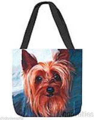 Manual Paws & Whiskers Yorkie Tote Yorkshire Terrier Dog shopping bag
