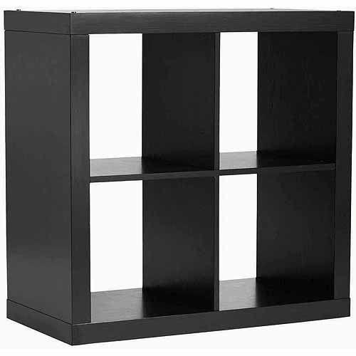 Better Homes Gardens Square 4 Cube Storage Organizer Multiple Colors Cube Storage Cube Organizer Cubby Storage