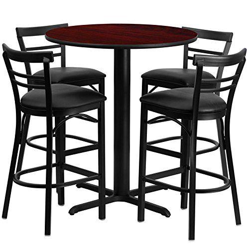 Starsun Depot 24 With Images Pub Table Sets Pedestal Pub Table Metal Bar Stools