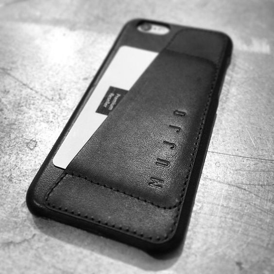 #Mujjo leather wallet case for iPhone 6 - By @macforum.se from #sweden - Available at macforum.se