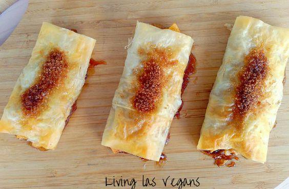 Napolitanas de manzana y nueces de Living Las Vengans