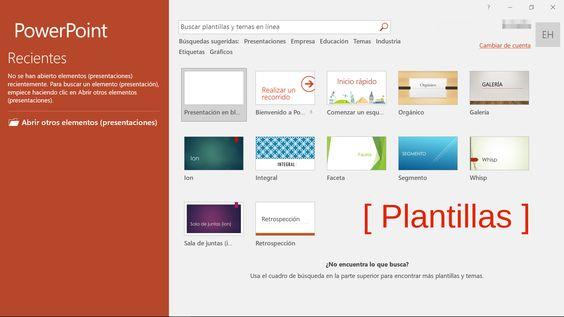 Plantillas Powerpoint 2016