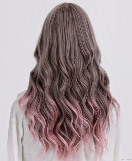Rambut Ombre Ombre Hair Color Ombre Hair Grey Hair Color