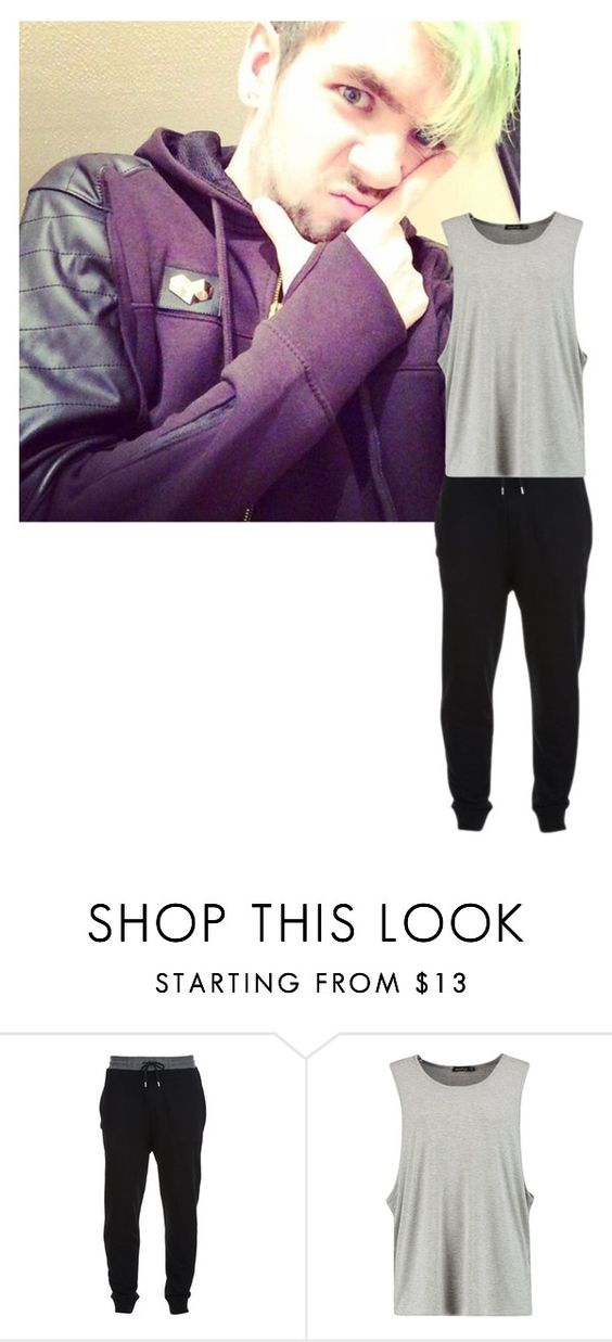 """Movie night! -Jack"" by hiddensmile ❤ liked on Polyvore featuring McQ by Alexander McQueen, men's fashion and menswear"
