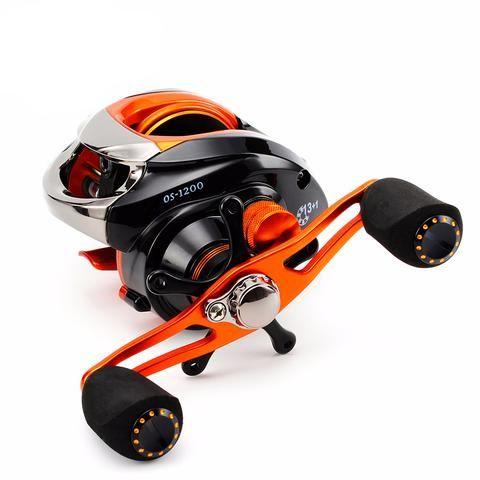 orange storm fishing baitcasting reel 14bb super light anti, Fishing Reels