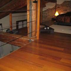 Paredes y pisos de estilo Rústico por COMPENSATI CABBIA snc