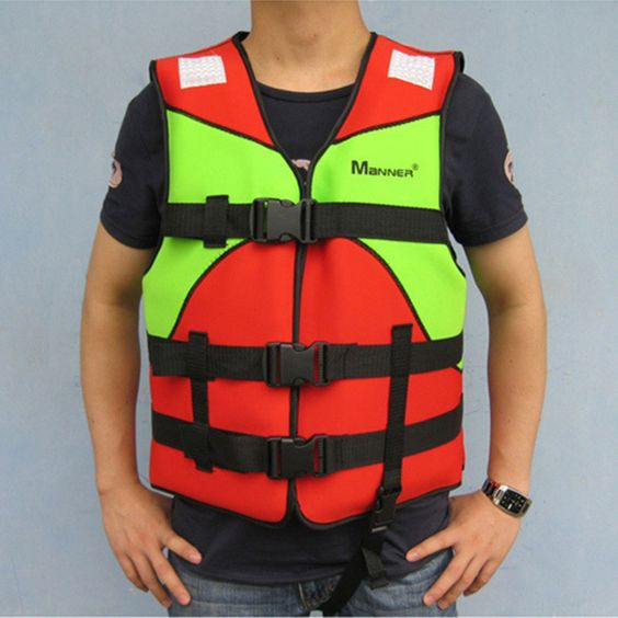 1Pc Dinghy Boat Buoyancy Security Clothing Load Bearing 40-100KG Foam Buoyancy Floating Lifejacket Swimming Aid Vest