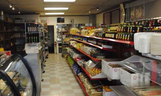 The interior of Seven Valleys Fine Food & Deli at 2506 Douglas Street, Victoria, BC, Canada