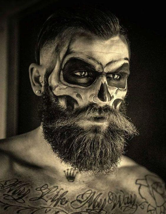 Follow Halloween makeup beard for more halloween costumes