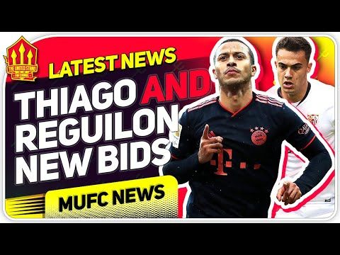 Reguilon And Thiago Bids Confirmed Man Utd Transfer News In 2020 Transfer News Bid News